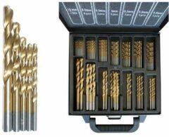 Hofftech 101-delige Borenset - Gereedschapskoffer - Titanium Coated