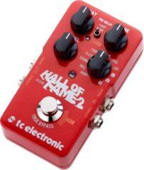 TS Electronic TC Electronic Hall of Fame 2 reverb/chorus/vibrato/tremolo pedaal