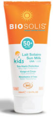 Biosolis Milk kids & baby SPF 50 face and body 100 Milliliter