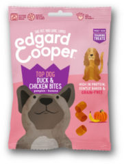 Edgard-Cooper Edgard&Cooper Duck & Chicken Bites - Hondensnacks - Eend Kip Pompoen 50 g