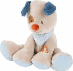 Beige Nattou Hond Jim - Knuffel - 30 cm