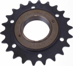 Zwarte Esjot Freewheel 22t 1/2 X 1/8 Inch