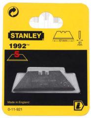 Stanley vervangingsmes 19, 62x19mm, mesvorm trapezium recht, breekmessen