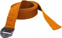 Trendy Sport Yoga riem - Yogariem - Yoga belt - 190 cm lang - 4 cm breed - 2 mm dik - Oranje