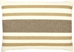 Beige FS Home Collections Basic Stripe