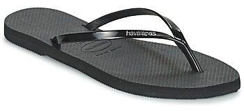 Afbeelding van Zwarte Havaianas You Metallic Slippers Dames - Black