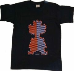 Marineblauwe B & C Anha'Lore Designs - Clown - Kinder t-shirt - Navy - 12/14j (152/164)