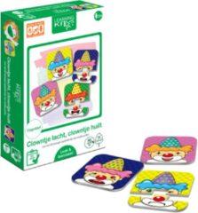 Story Factory Learning Kitds - Clowntje Lacht, Clowntje Huilt