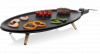 Princess 01.103200.01.001 Elypse Pure Table Chef Bakplaat Zwart