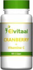 Elvitaal Cranberry + 60 Mg Vitamine C (60st)