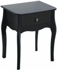 DS Style Nachtkastje Baroque 55 cm hoog in zwart