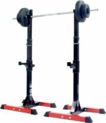 Rode ISE RK-1001 Lange Barbell Bar Houders 200 kg Max Squat Cage Workout Bodybuilding Fitness