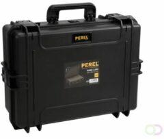 Perel Outdoor-koffer (b x h x d) 555 x 211 x 428 mm Zwart HC505S