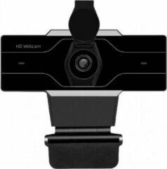 Zwarte Missan Online Missan: Full HD Webcam USB-computerwebcam - Met Privacysluiter -Full HD Webcamera met Autofocus - Met Privacysluiter en microfoon voor Skype, videogesprekken, conferenties, opname, streaming