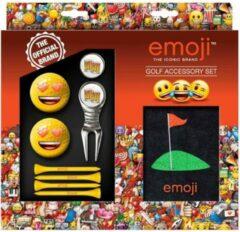 Zilveren Second Chance Emoji Golf Accessoires Set - Love