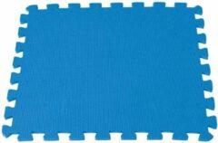 Blauwe Comfortpool - Zwembad isolatie ondergrond / looppad XL - 60cm x 60cm - 5 tegels