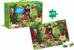 FDBW Dierenpuzzel – Jungle| Puzzel voor kinderen van 3 jaar – jungle dieren | Puzzel Kinderen Leer | Puzzel Dieren Kinderen – 100 stukjes - Jungledieren
