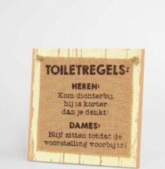 Massamarkt Paperdreams Wooden sign - Pubers