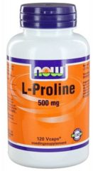 Now Foods Now L-proline 500 Mg Trio (3x 120vc)