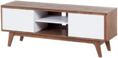 Bruine Beliani Rochester Tv-meubel Mdf 40 X 142 Cm