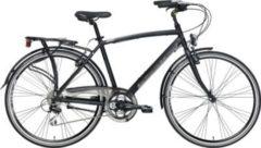 28 Zoll Herren Trekking Fahrrad 21 Gang Adriatica Boxter HP Man matt-schwarz, 50cm