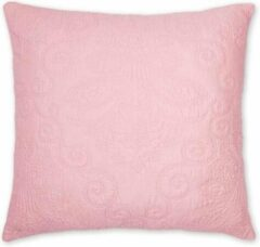 Roze PiP Studio Feeling Quilty Cushion Square - 60x60 cm - Pink