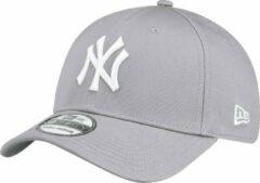 Grijze New Era 39THIRTY LEAGUE BASIC New York Yankees Cap - Grey - S/M