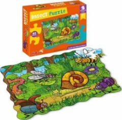 FDBW Kinder Puzzels 3 jaar – Insecten Speelgoed | Insecten Puzzel | Puzzelen voor kinderen | Puzzel 45 stukjes | Kinderpuzzels 3 jaar – Leerzame Puzzels – Insecten
