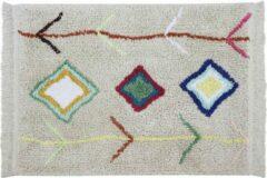 Beige Lorena Canals - Wasbaar vloerkleed - Mini Kaarol - 70 x 100 cm