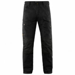 Zwarte Fjällräven Fjallraven Vidda Pro Ventilated Trs Long Heren Outdoorbroek - Black - Maat 50