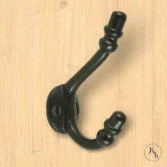 Kapstok-haken.nl Set van 10 zwarte kapstokhaken 'Childs Acorn'