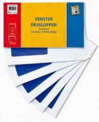 Soho Enveloppen Kabinet Links 15 X 20 Cm Papier Wit 25 Stuks