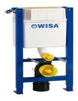 Wisa XT 83 inbouwelement voorwandsysteem, (hxbxd) 830-1030x380x140-200mm