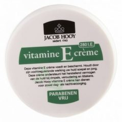 Jacob Hooy Vitamine E Creme (1 Pot van 140 ml)