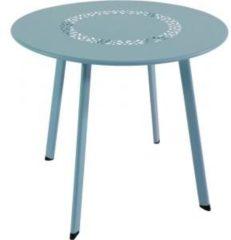 Lesli Living bijzettafel Dali blauw 50x45cm