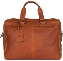 Burkely Laptop schoudertas Burkely Antique Avery Workbag 15.6 Inch Bruin