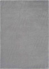 Wedgwood - Folia Grey 38305 Vloerkleed - 200 cm rond - Rond - Laagpolig Tapijt - Design, Klassiek - Grijs