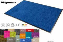 """Smophy Home Wash & Clean vloerkleed / entree mat, droogloop, ook voor professioneel gebruik, kleur """"Azur"""" machine wasbaar 30°, 150 cm x 90 cm."""
