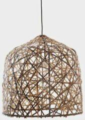 Naturelkleurige Ay Illuminate - Black Bird's Nest - Hanglamp - Donkerbruin - Ø56 H:58