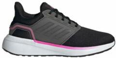 Adidas Performance EQ 19 hardloopschoenen zwart/grijs/roze