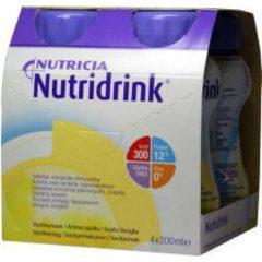 Nutricia Nutridrink Vanille 4 x 200 ml