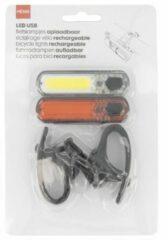 HEMA Fietslampjes Oplaadbaar LED USB - 2 Stuks