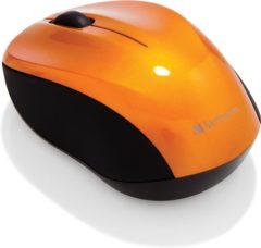 Verbatim Go Nano WiFi-muis Radiografisch Optisch Oranje