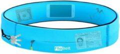 Flipbelt Zipper Lichtblauw - Running belt - Hardloopriem - S