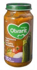 Olvarit Vegetarische pasta Courgette Mozzarella 15+ Maanden (1 Potje van 250g)