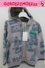 Blauwe Noppies Capuchonvest 00000 Baby Vest Maat 86