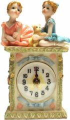 Blauwe Klokje staand kinderen ballerina's – Staand klokje 18 cm | GerichteKeuze