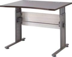 Dynamic24 Schreibtisch Amrum Lärche-Nb. / Eiche-Havanna-Nb. Bürotisch Arbeitstisch