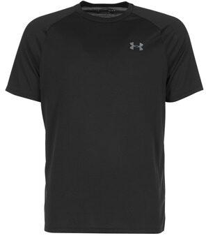 Afbeelding van Zwarte Under Armour Tech sportshirt (korte mouwen) - Hardloopshirts (korte mouwen)