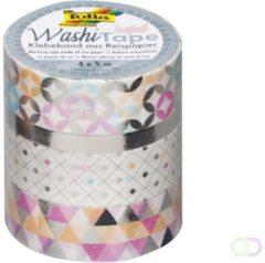 Folia Paper Washi tape hotfoil zilver